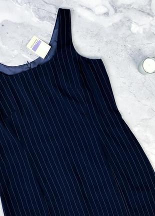 Стильное платье миди в полоску essentials essentials