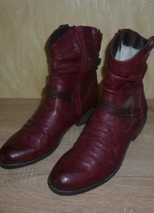 Полусапоги ботинки rieker (рикер)  42р. стелька 27.2 см.