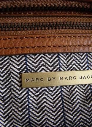 Vip шикарная большая кожаная сумка - 100% натуральная кожа – модельер marc jacobs - 100% оригинал5