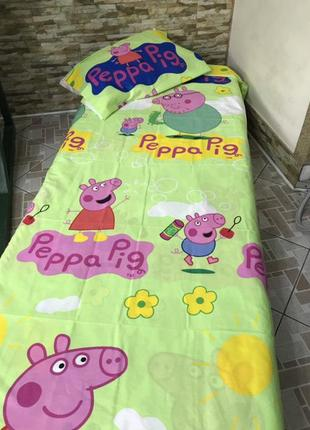 Дитячий комплект свинка пепа