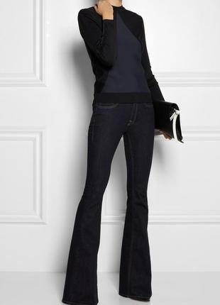Шикарные джинсы - клеш на 46-48 размер.