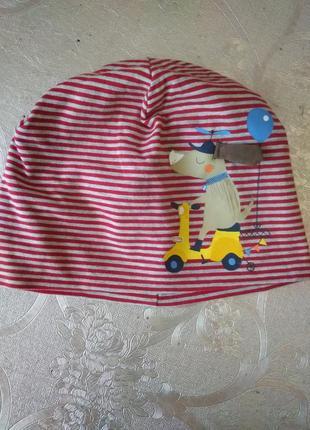 Двойная шапка смотрите замеры