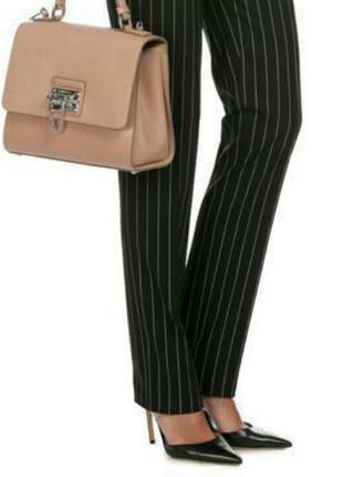 Классические прямые брюки из шерсти stefanel наs-m размер