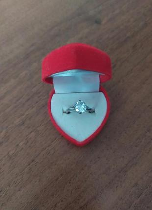 Серебряное кольцо. можно для помолвки