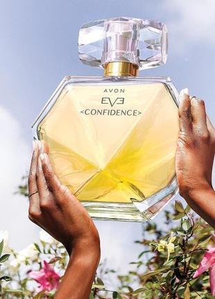Распродажа! акционная цена! eve contidence avon парфюмированная вода от евы мендес. эйвон