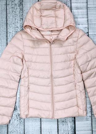 Куртка /курточка на пуху/стёганая куртка/деми-пуховик / куртка пудровая