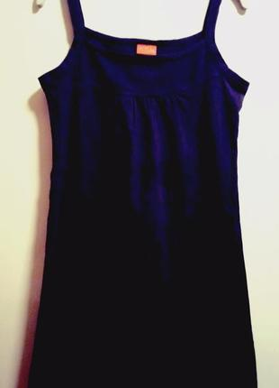 Базовый коттоновый сарафан/домашнеее платье/ночнушка  cfl(color for life)