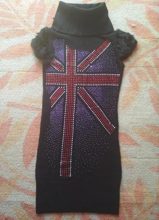 Теплое платье или туника