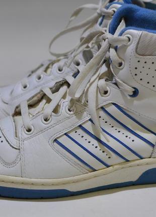 Кроссовки adidas vintage leather casual sneakers made in yugoslavia