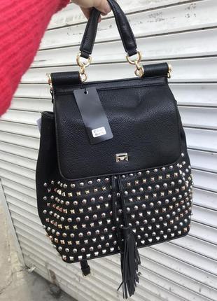 Кожаный рюкзак рюкзак кожаныйdolce & gabbana