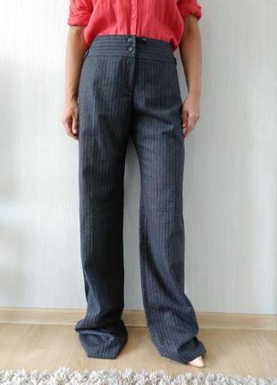 Роскошные шерстяные брюки max mara р 48(it)