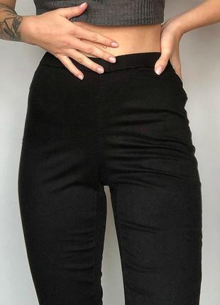 Базовые узкие джинсы с высокой посадкой jeans geisha