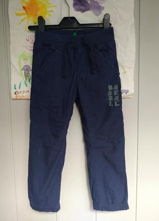 Утепленные штаны на подкладке