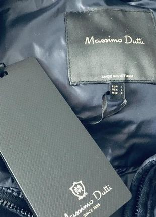 Зимняя куртка massimo dutti размер l5 фото