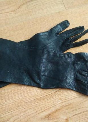 Кожаные  германские  перчатки /шкіряні рукавички /рукавиці