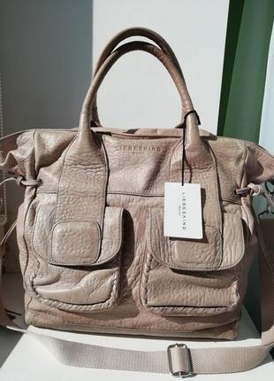 Німецька фірмова шкіряна сумка liebeskind. оригінал!!!