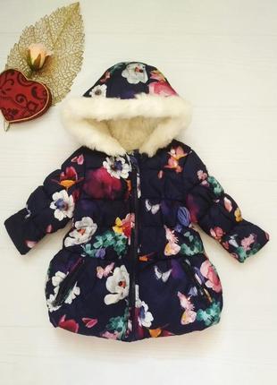Куртка в цветы