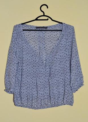 Стильная блуза, рубашка, джемпер zara размер s