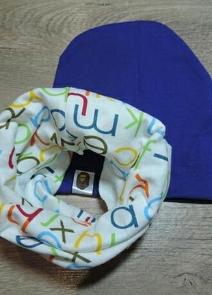 Комплект шапочка и хомутик