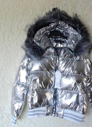 ✅ дутая куртка с мехом