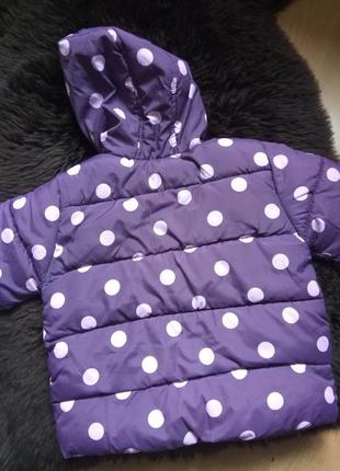 Теплая деми курточка
