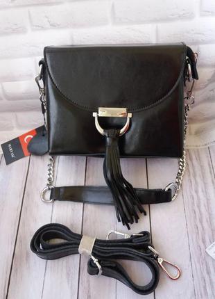 Кожаный клатч женский из натуральной кожи сумка шкіряна жіноча