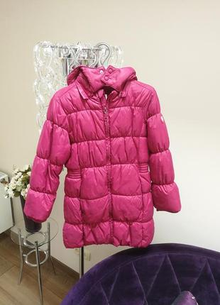 Детский зимний пуховик пальто куртка на пуху чико chicco
