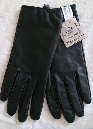 Перчатки женские кожаные из сша