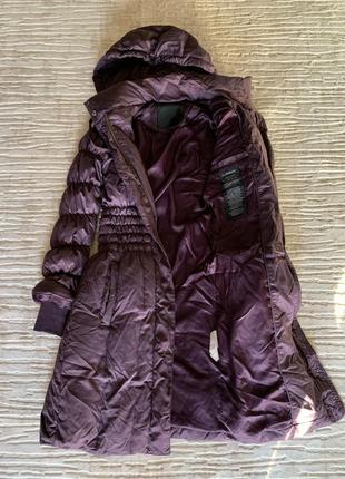 Пуховое пальто inwear xs xxs гусиный пух пуховик пальто из пуха на пуху