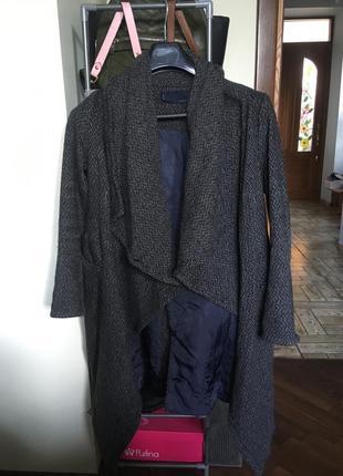 Идеальное пальто/ пальто-халат на осень-весну zara