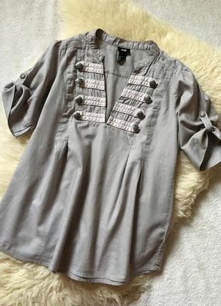 Эффектная блузка рубашка h&m
