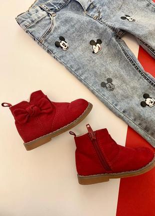 Ботинки, сапоги для девочки h&m размер 20/21