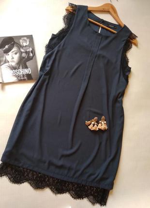 Нежное платье с кружевом vila
