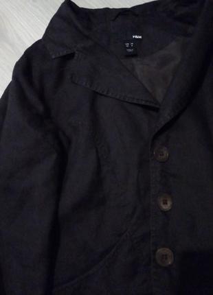 Пиджак лен h&m