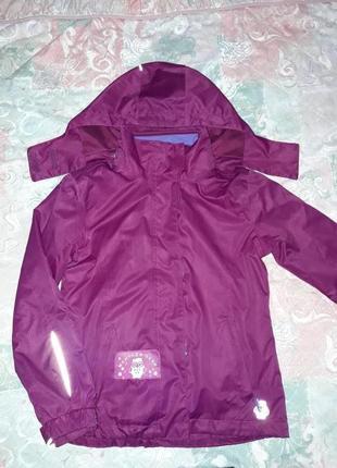 Куртка демисезонная тсм tchibo на рост   122-128