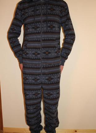 Пижама слип человечек на высокого парня на рост 175-185 см, размер xl, easy