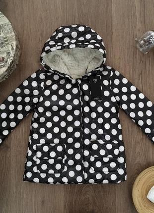 Демисезонная куртка для девочки guess сша