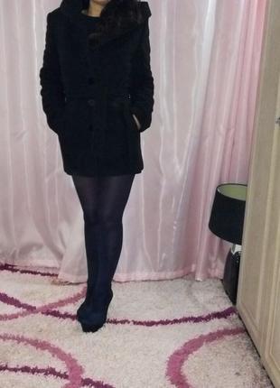 Пальто черное vivalon