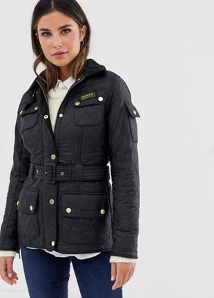 Стеганка стеганная куртка на ремне