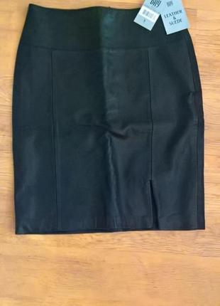 Кожаная юбка bay
