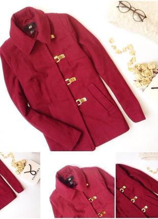 Актуальное пальто h&m