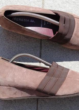 Очень комфортные туфли из натуральной кожи