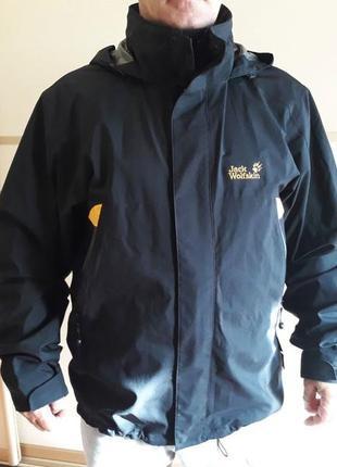 Оригинал куртка ветровка додевик jack wolfskin 1101481 мембрана sh