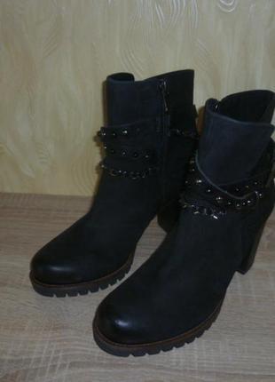 Демисезонные ботинки marco tozzi (марко тоцци) 38р