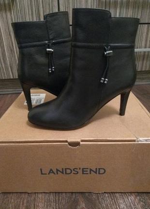 Новые кожаные ботинки landsend