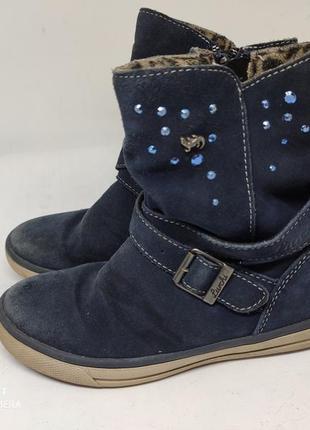 Замшевые ботинки lurchi 30 размер