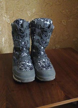 Зимние термо сапоги,  ботинки b&g