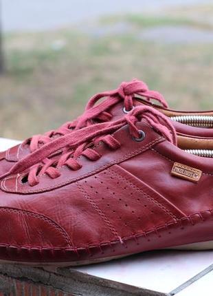 Стильные кожаные туфли, мокасины pikolinos 45-46