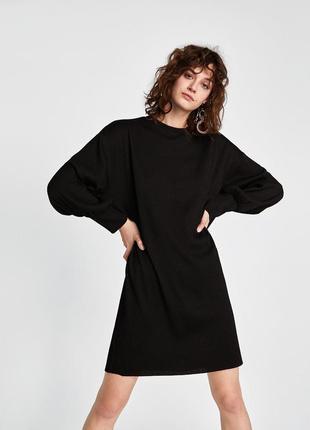 Чорне плаття оверсайз