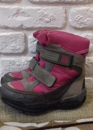 Ботинки super fit (австрия). размер 27 (стелька 18 см). goretex.
